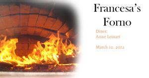 Francesas Forno Featured